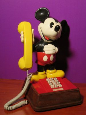 Mickey Mouse Telephone - Sweet N Evil